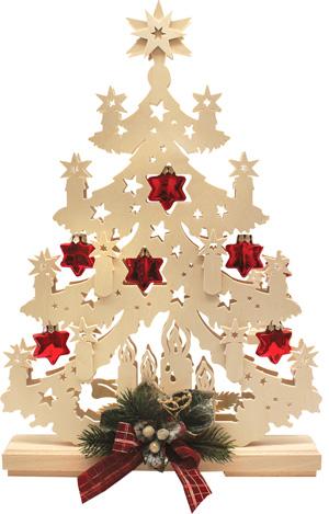Crèche de Noël et bougeoir électrique, décorations de Noël à suspendre